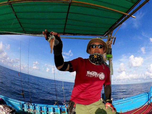 タイランド湾 船釣り 釣果