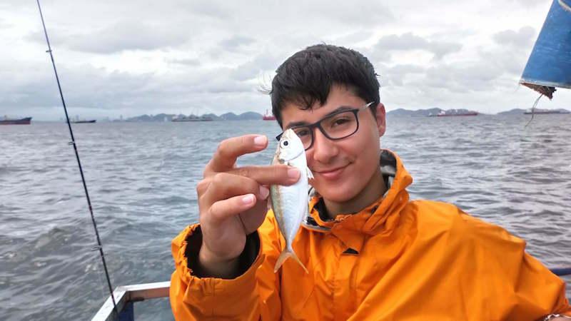 ホソヒラアジ タイランド湾 シーチャン島 釣り
