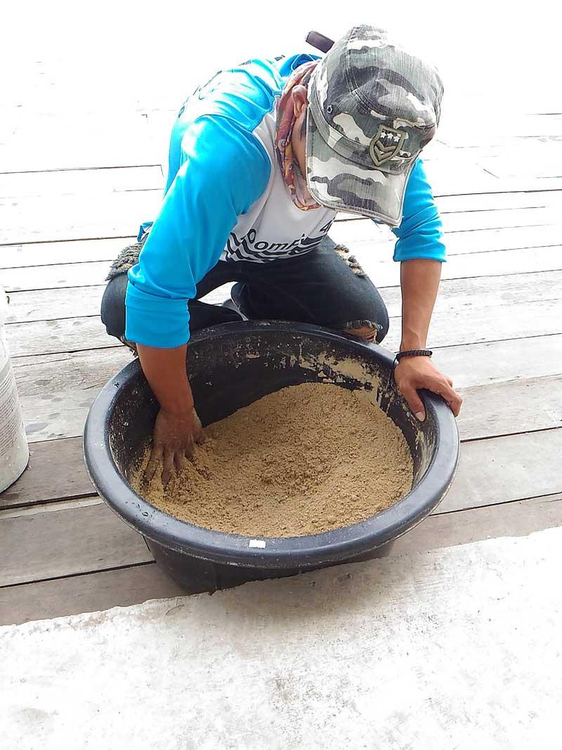 noomfish 寄せエサ 作り方