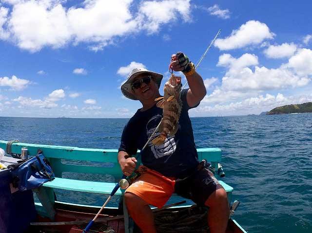 チャイロマルハタ バンサレー 釣り