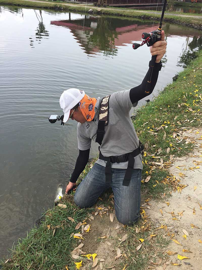 モンコン mongkol 釣り タイランド キャッチ