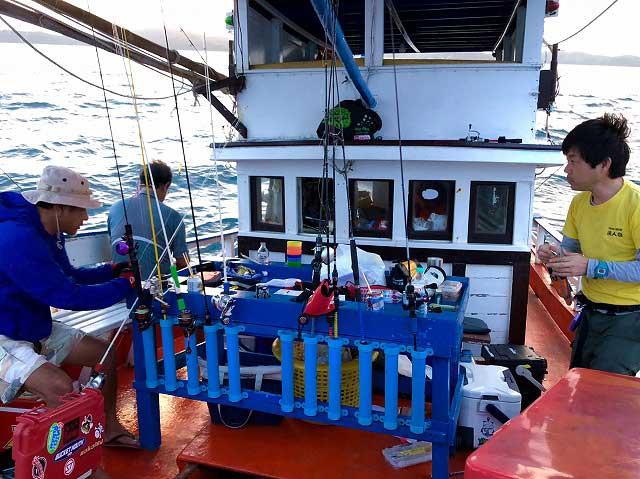 バンサレー ライトジギング 船釣り