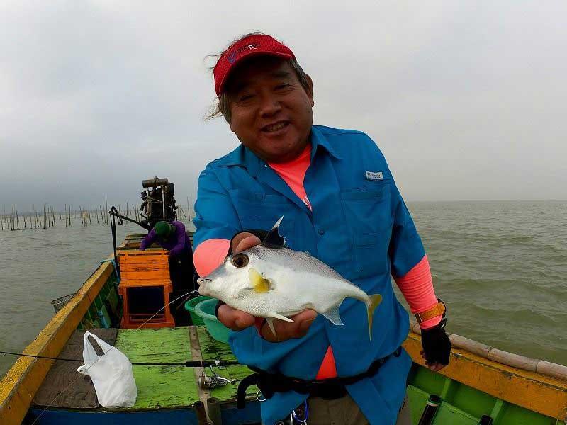バンサレー 釣れた魚