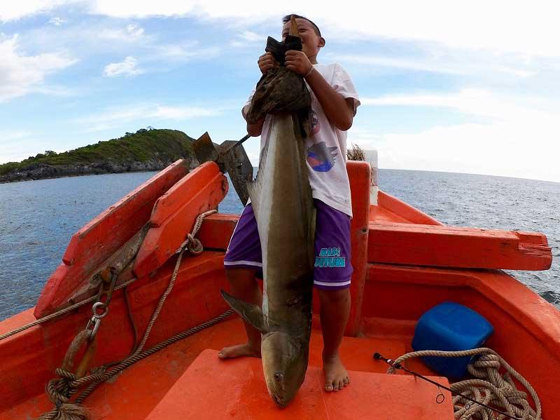 大型スギ バンサレー 釣り