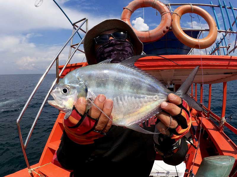 ヨロイアジ バンサレー 釣り