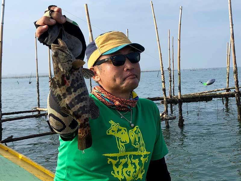 チャイロマルハタ 釣り タイ