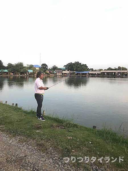 ボーヌム 釣り堀 釣る