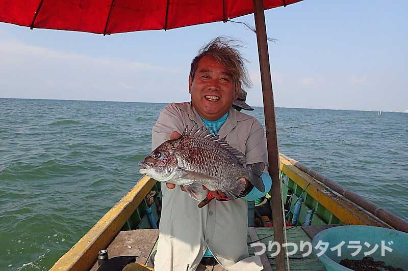 タイランド チヌ 釣る