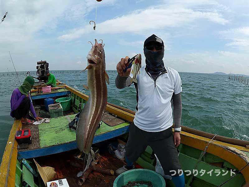 ゴンズイ 釣り タイランド