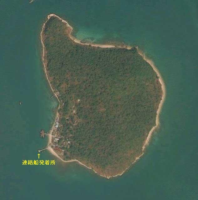 カーム島 地図