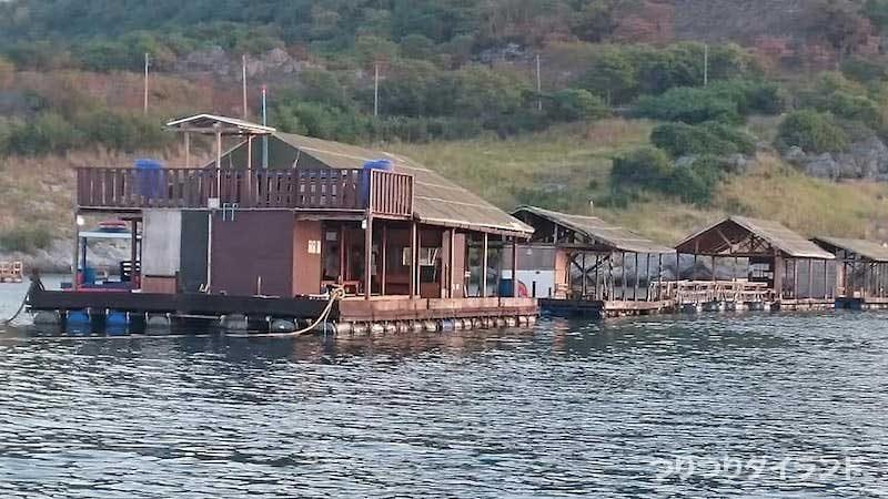 陣田筏 シーチャン島 釣り