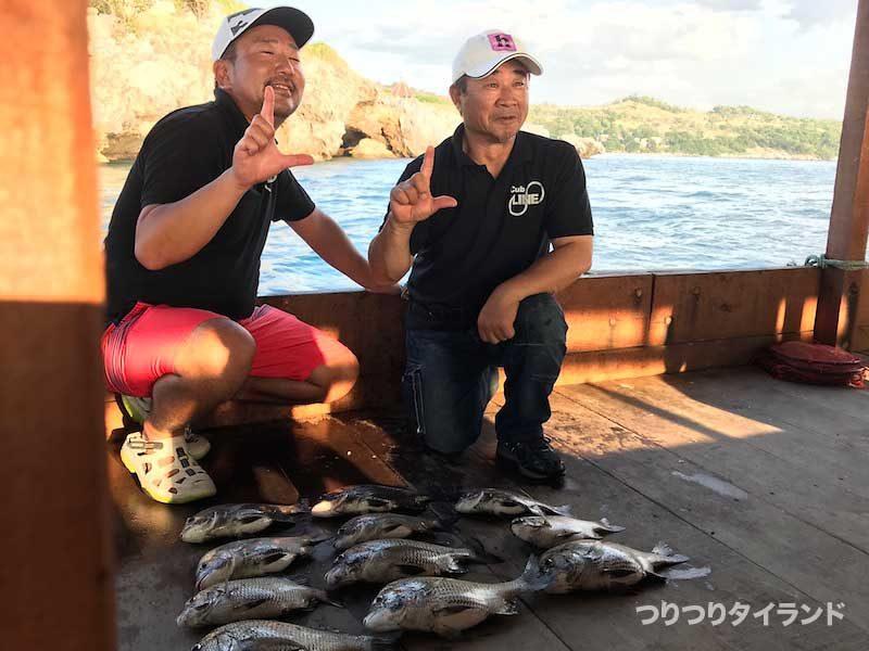 シーチャン島 チヌ 釣果
