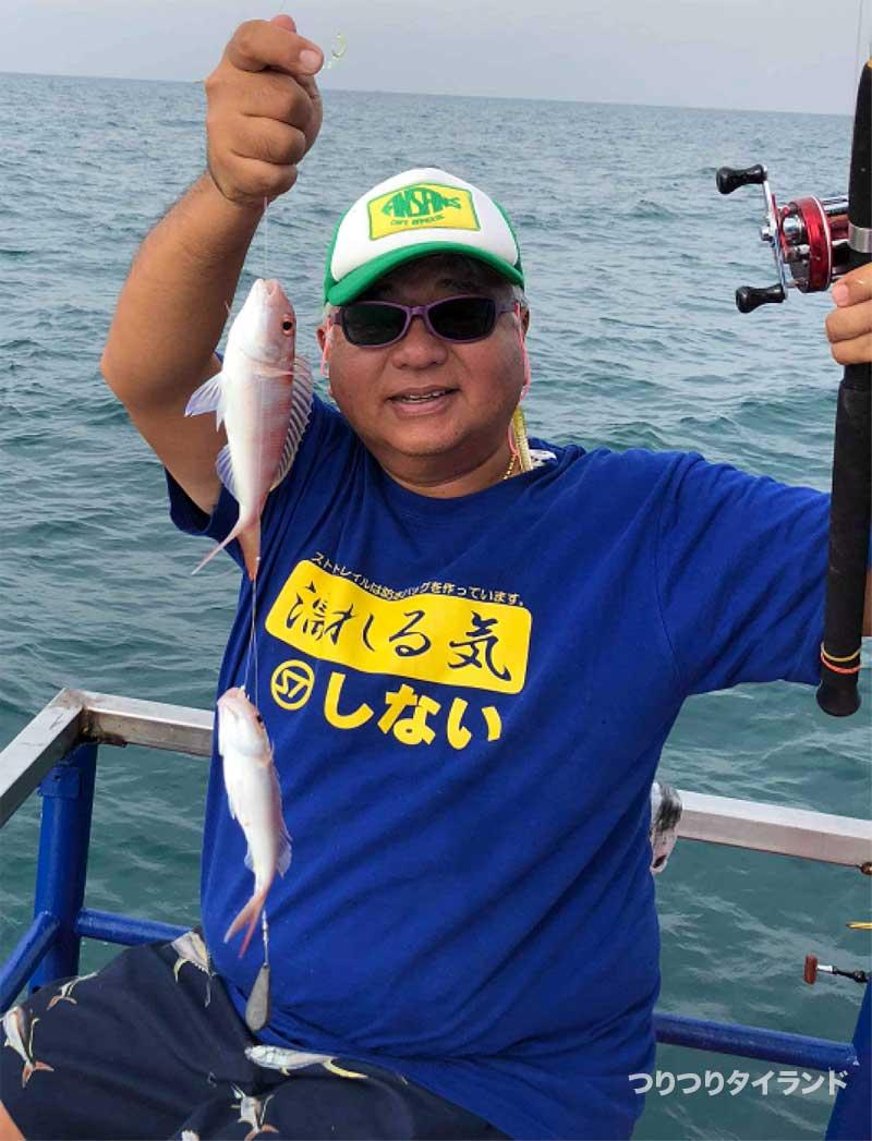 シーチャン島 船釣り イトヨリ