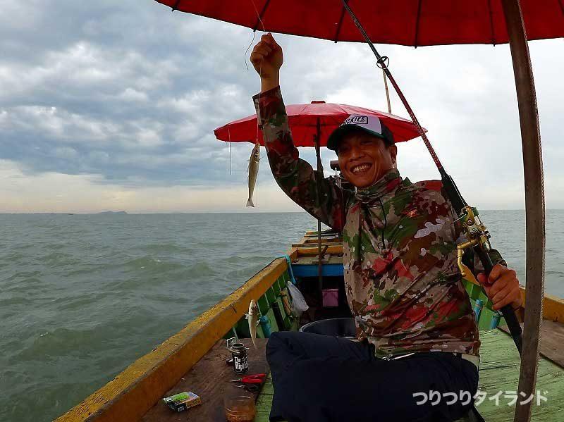 キス釣り タイ