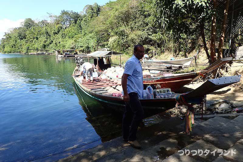 タイ ダム ボート