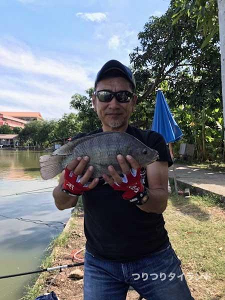 プラーニン ティラピア 釣り