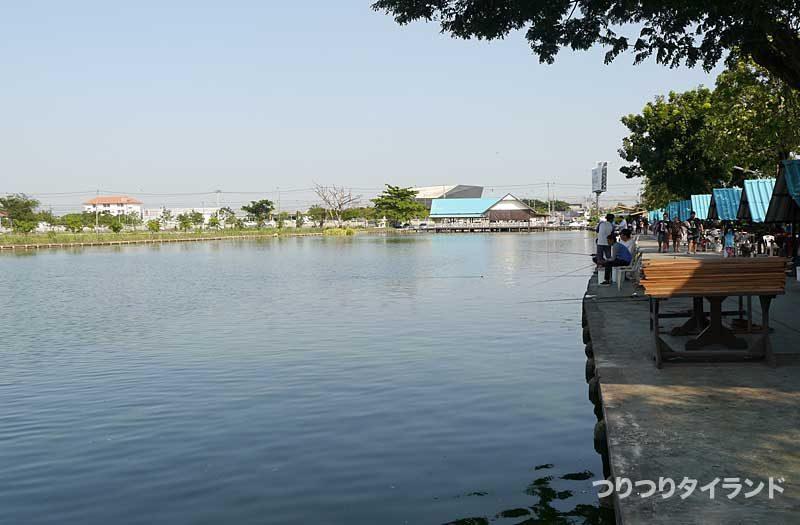 ブンマールアイの釣り場