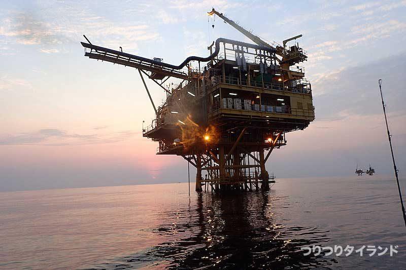 ガス田 タイランド湾
