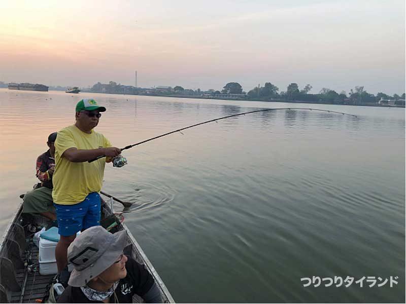 チャオプラヤ 釣り ヒット