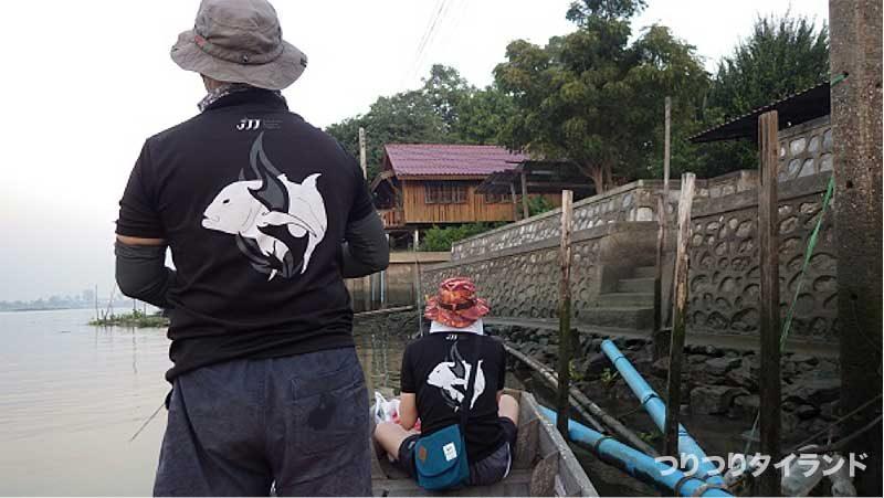チャオプラヤ川 釣り JJJ