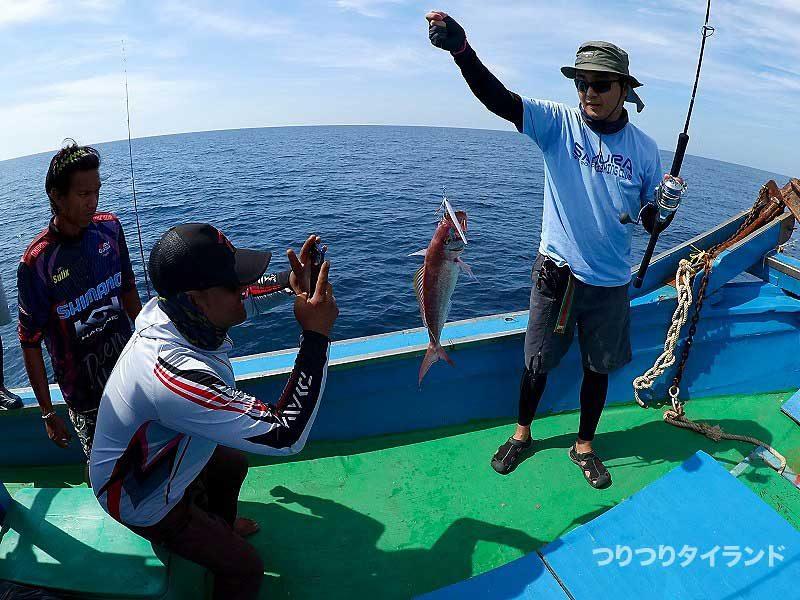 アカチビキ シミラン 釣り