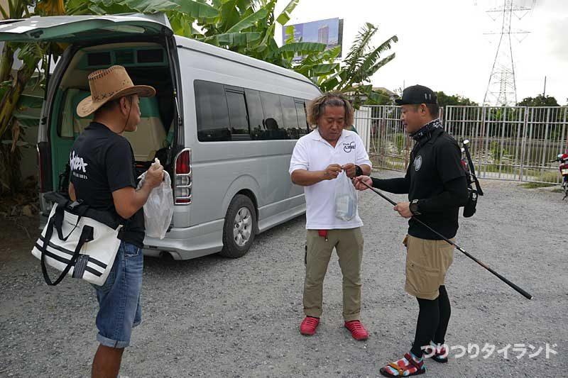 釣り堀 タイ Nana Fishing 集合
