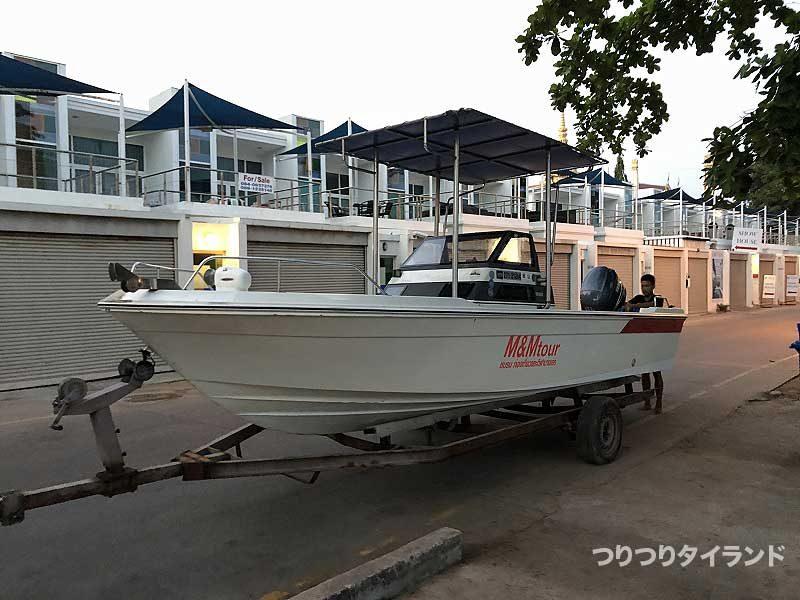 バンサレー スピードボート