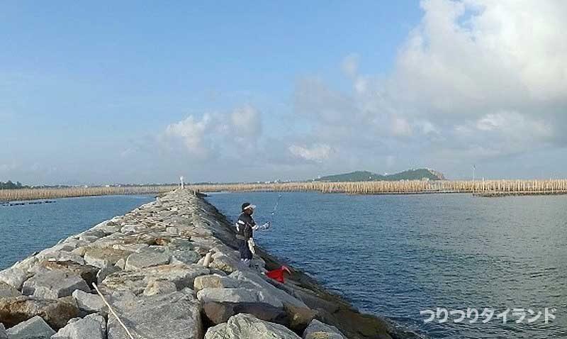 アンシラー沖堤防 チヌのフカセ釣り
