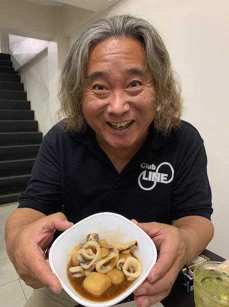 シラチャ イカと里芋の煮物