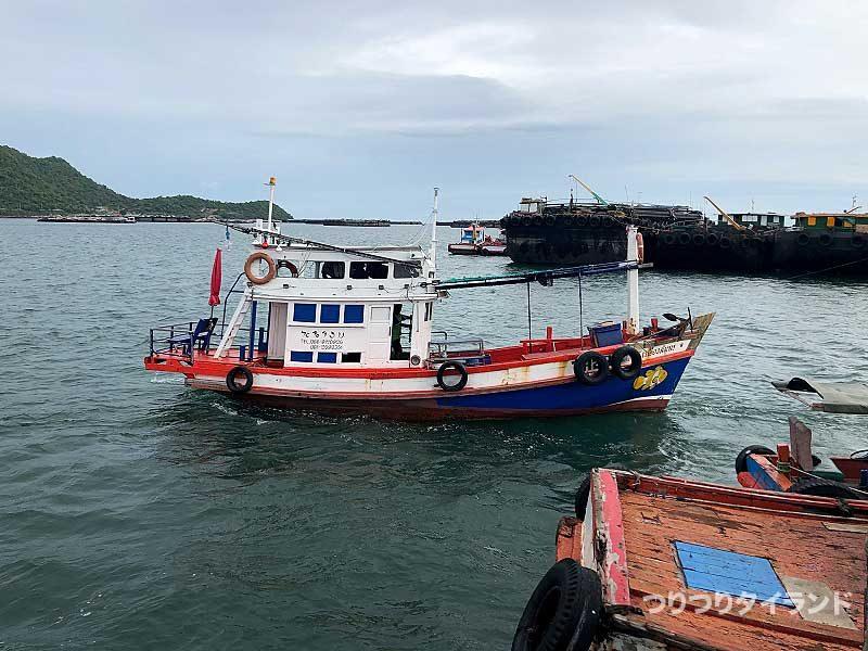 ワンチャイ船 カーム島
