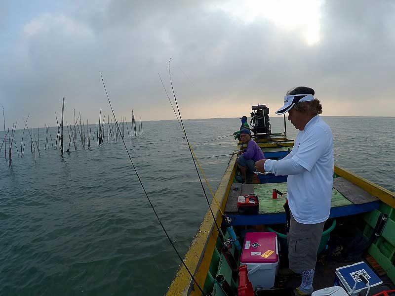 釣りをセット