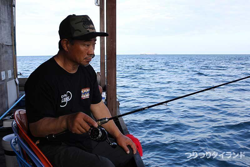 正木義則 タイランドでチヌ釣り