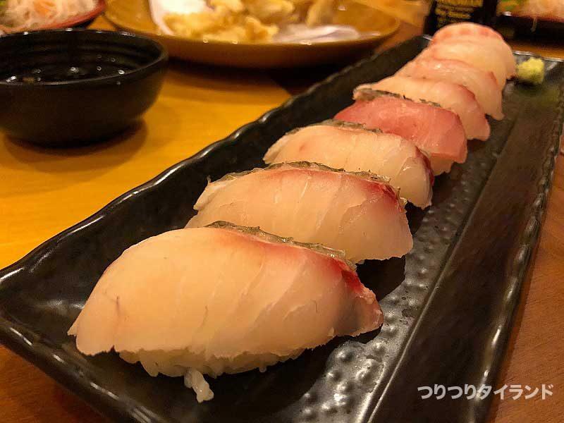 チヌの寿司