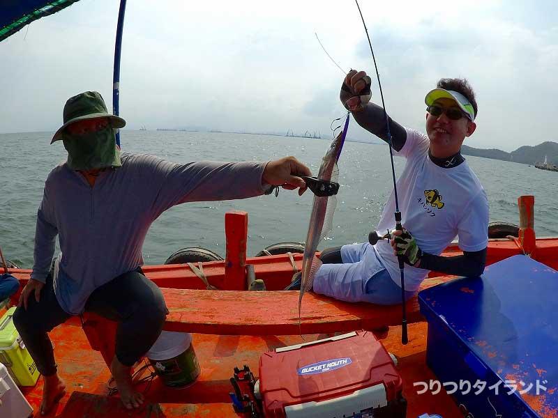 ドツボさんが釣った太刀魚