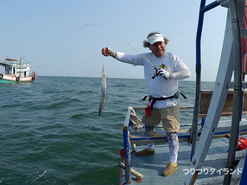 コウちゃんが釣った太刀魚