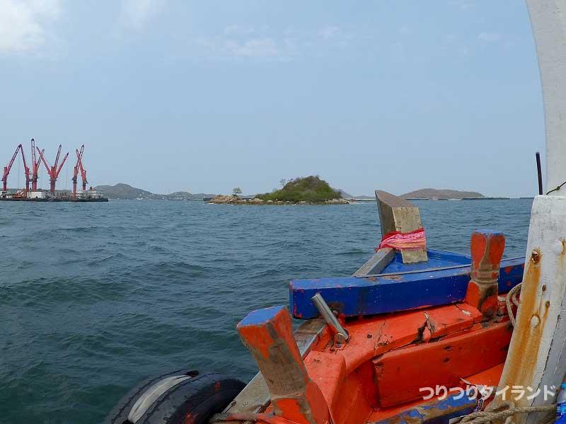 シーチャン島 鯵ポイント