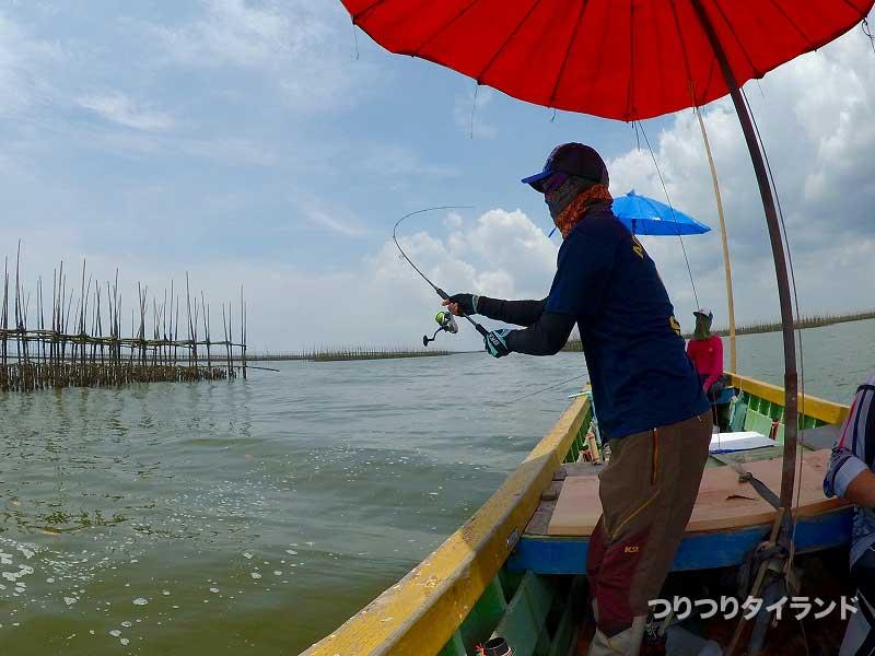 タイランドでチヌ釣り