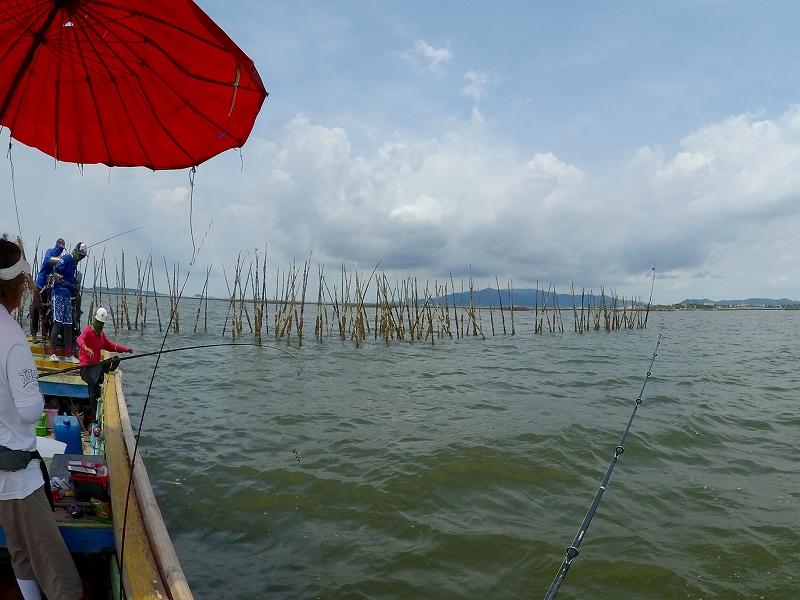 タイランド湾 チヌ釣り場