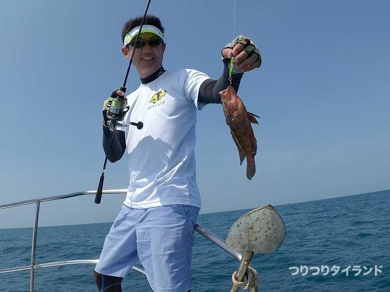 ヤミハタを釣ったドツボ
