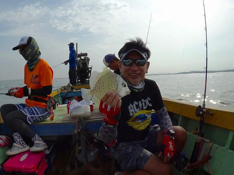 タイで釣ったユウダチスダレダイ