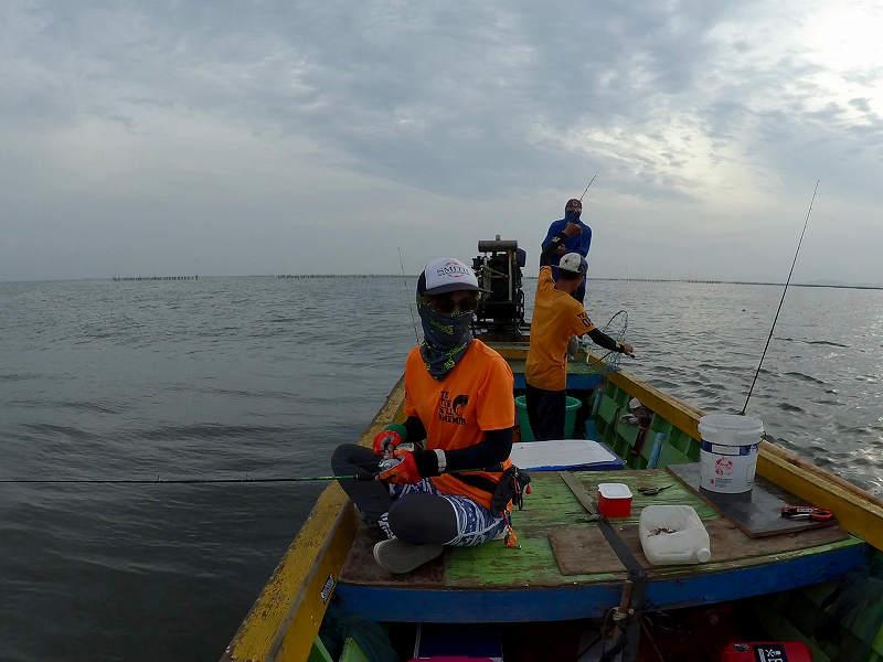 釣り開始 バンサイ沖のチヌ釣り