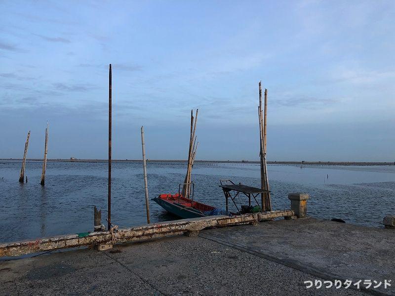 バンサイ 船着き場