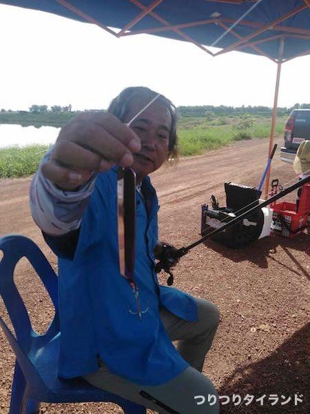 デプス グルカナイフ タイのナマズ