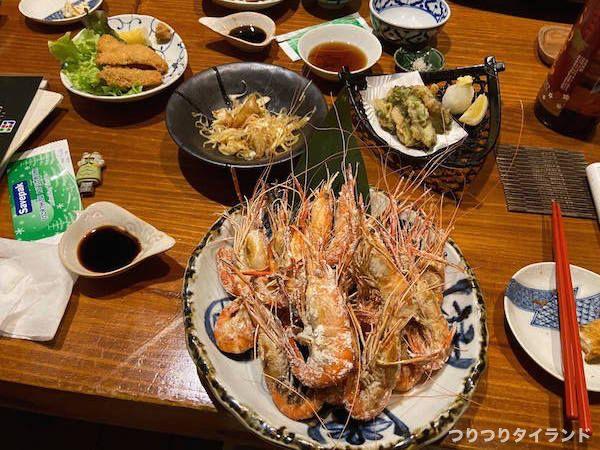 笹弥 海老料理