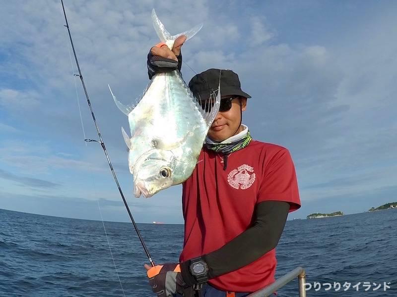 ウマヅラアジを釣ったテッチャン