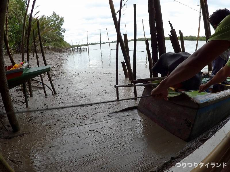 泥の上の出船
