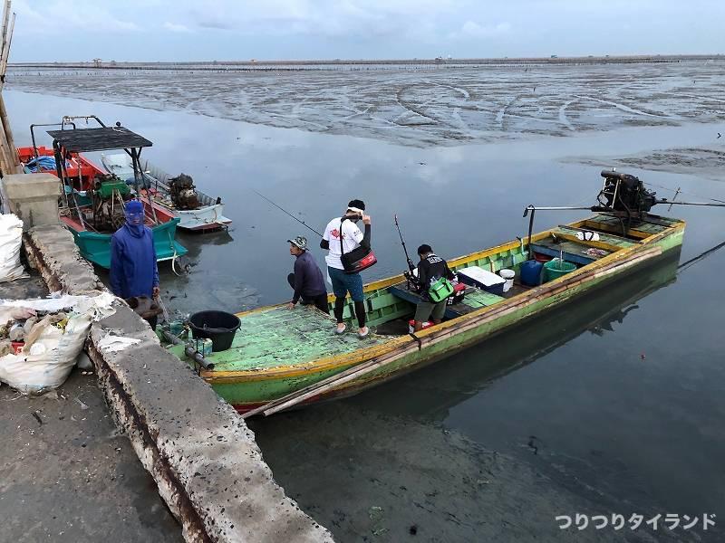 バンサイ チヌ釣り 港