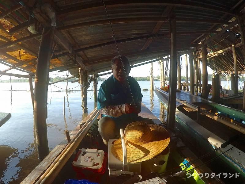 エビ釣り船のコウちゃん
