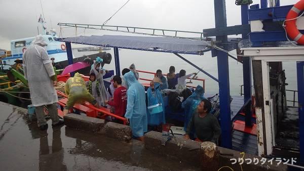 タイランド 船釣り 乗船