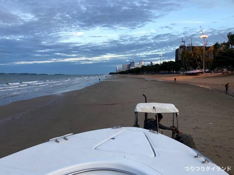 ジョムティエンビーチ 砂浜